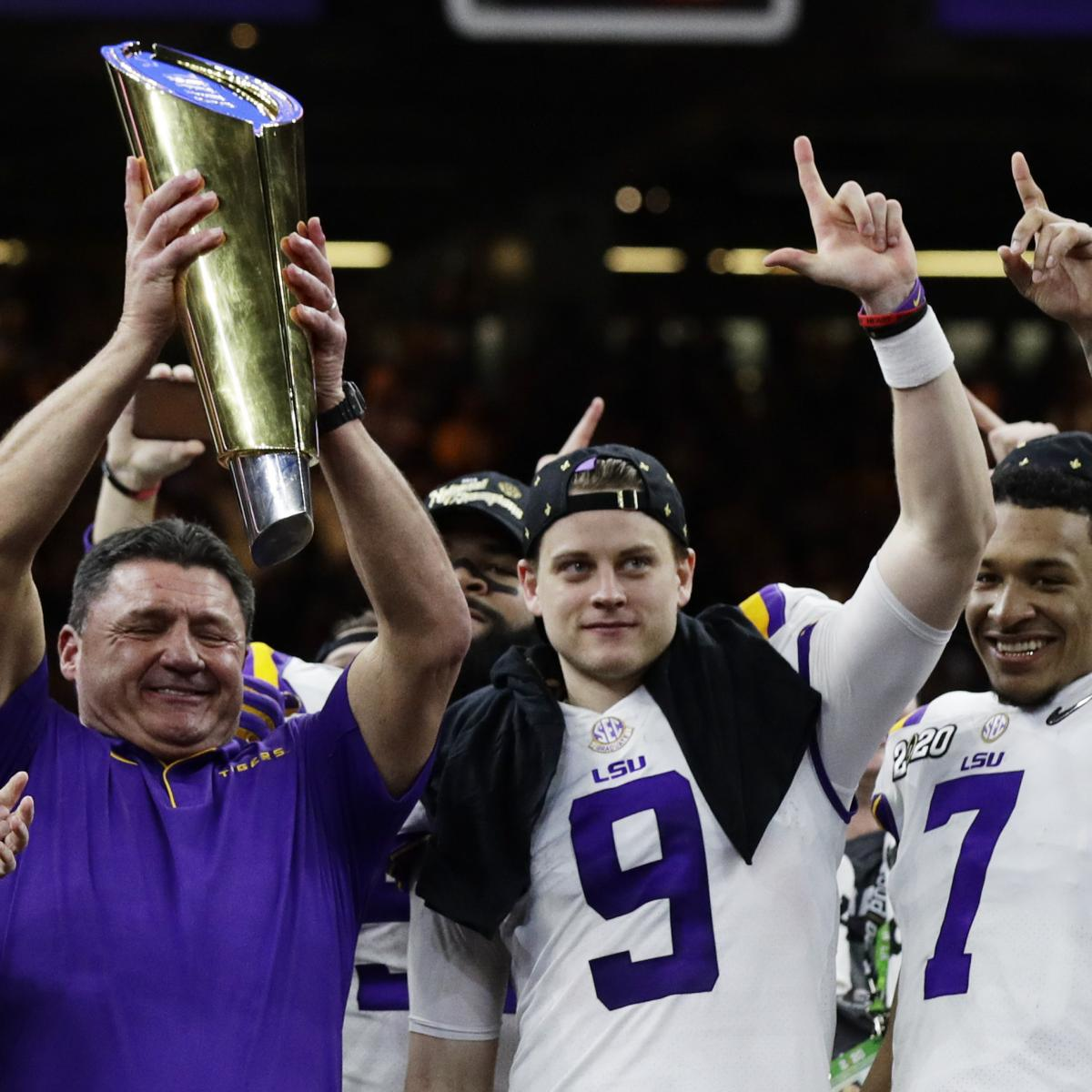 Joe Burrow Reflects on Heisman Trophy, Championship Season After Win vs. Clemson
