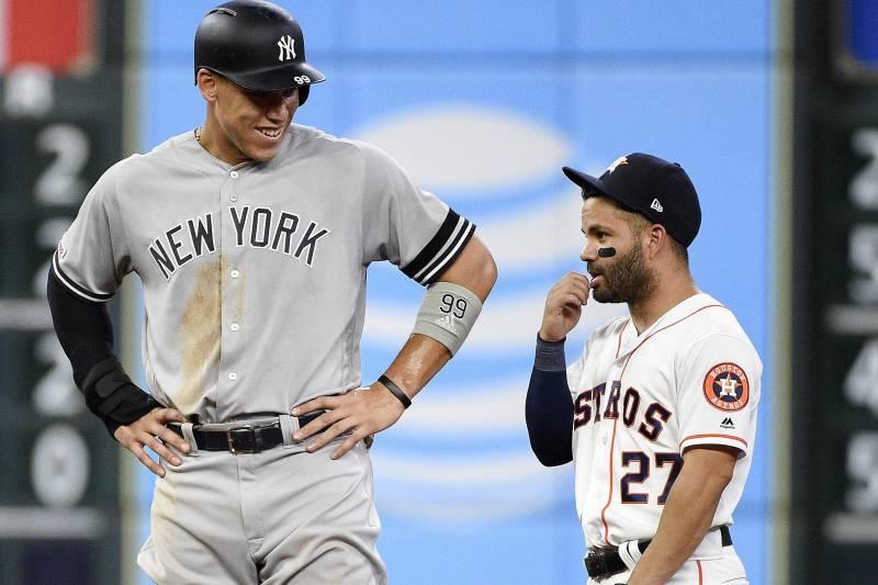 Altuve Astros >> Yankees Aaron Judge Deletes Ig Congratulating Astros Jose