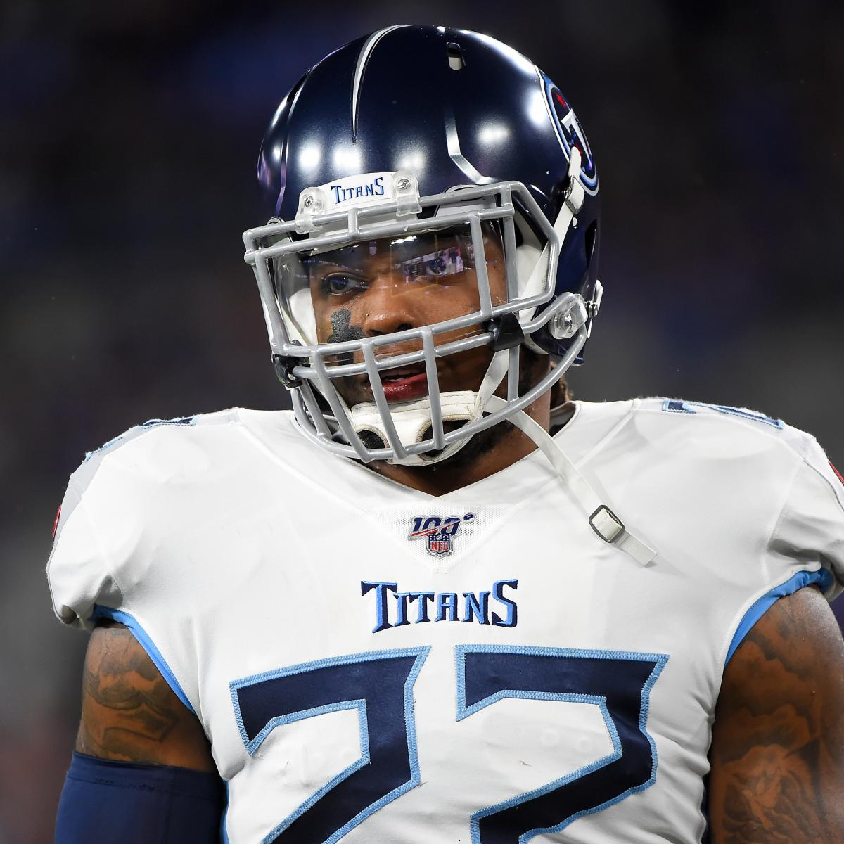 Derrick Henry Given Franchise Tag by Titans Post-Ryan Tannehill Contract