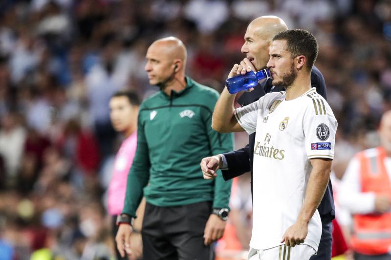 Eden Hazard: 'More Pleasure' in Zinedine Zidane Training Than Ex-Chelsea Coaches