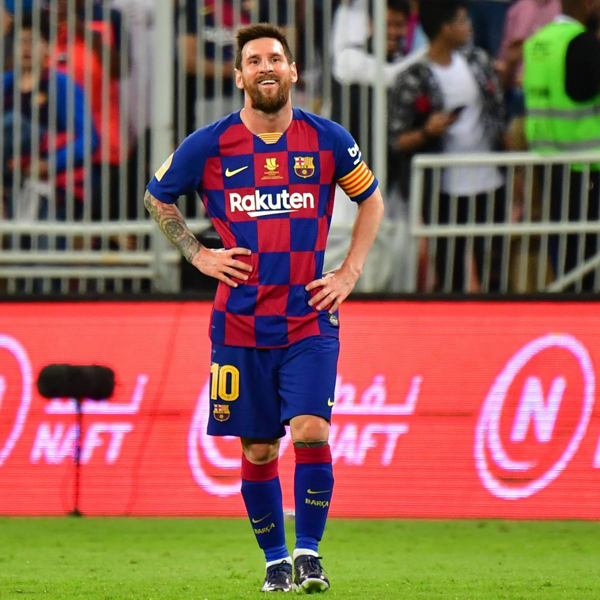 Lionel Messi Thinks About Scoring Less And Less Not Obsessed With Goals Bleacher Report Latest News Videos And Highlights