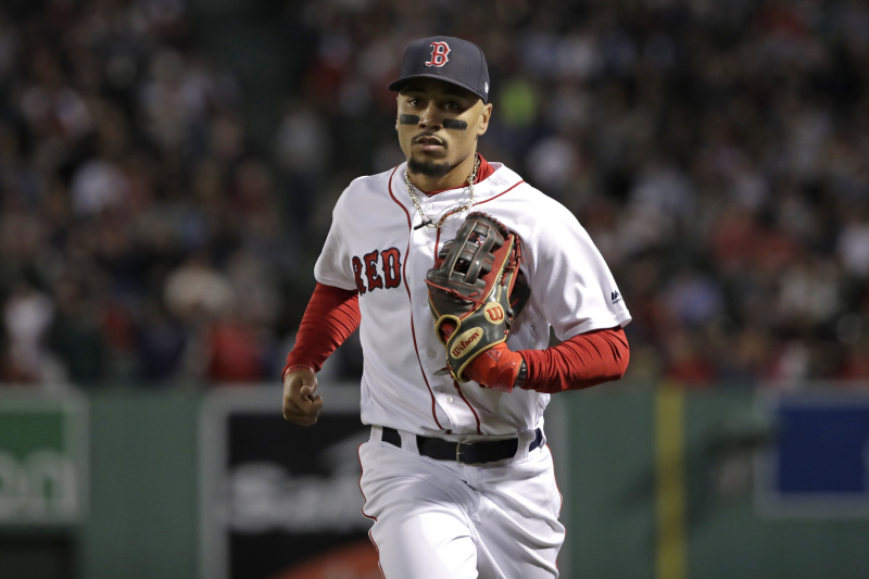 Red Sox Expect Mookie Betts to Be on Opening Day Roster Amid Trade Rumors