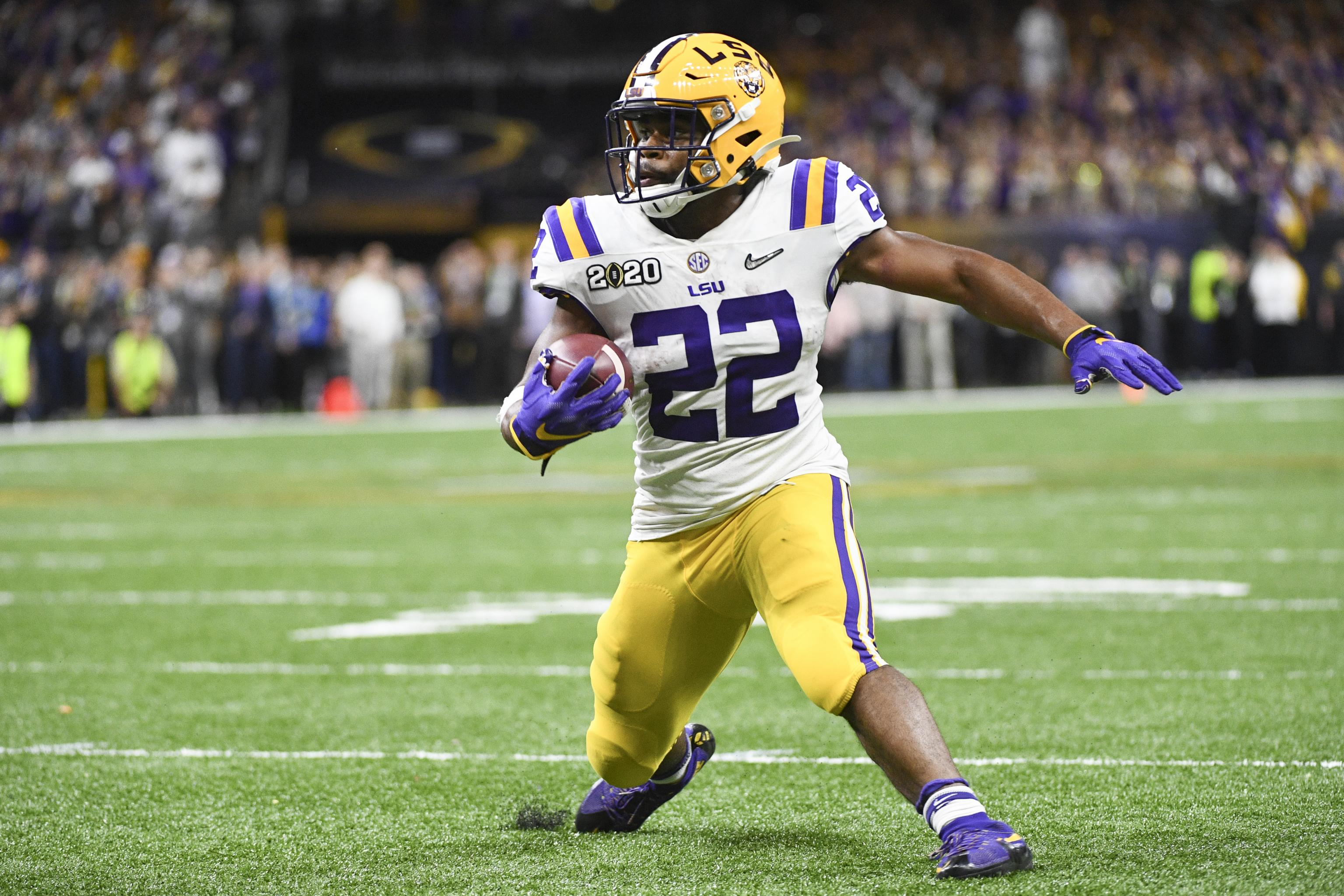 LSU's Clyde Edwards-Helaire Declares for 2020 NFL Draft After ...