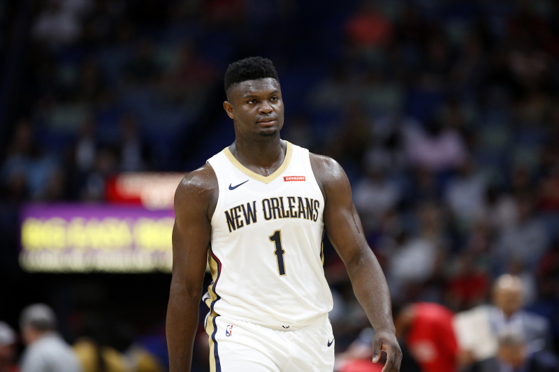 David Griffin: Zion Williamson Gained 8 Pounds of Muscle in 1 Week in Offseason