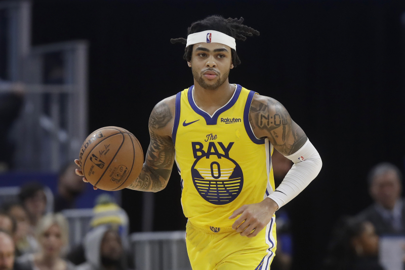 D'Angelo Russell Trade Rumors: T-Wolves 'Intensifying' Pursuit of Warriors Star