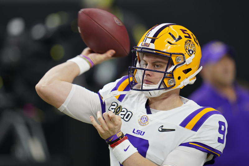 LSU Star Joe Burrow Would Be 'Happy' to Be Drafted No. 1 by Bengals, Says Father