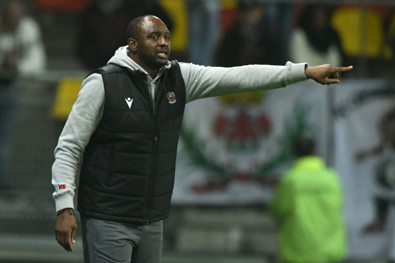 Patrick Vieira Says 'Focus' Is with Nice, No Arsenal Talks After Unai Emery Exit