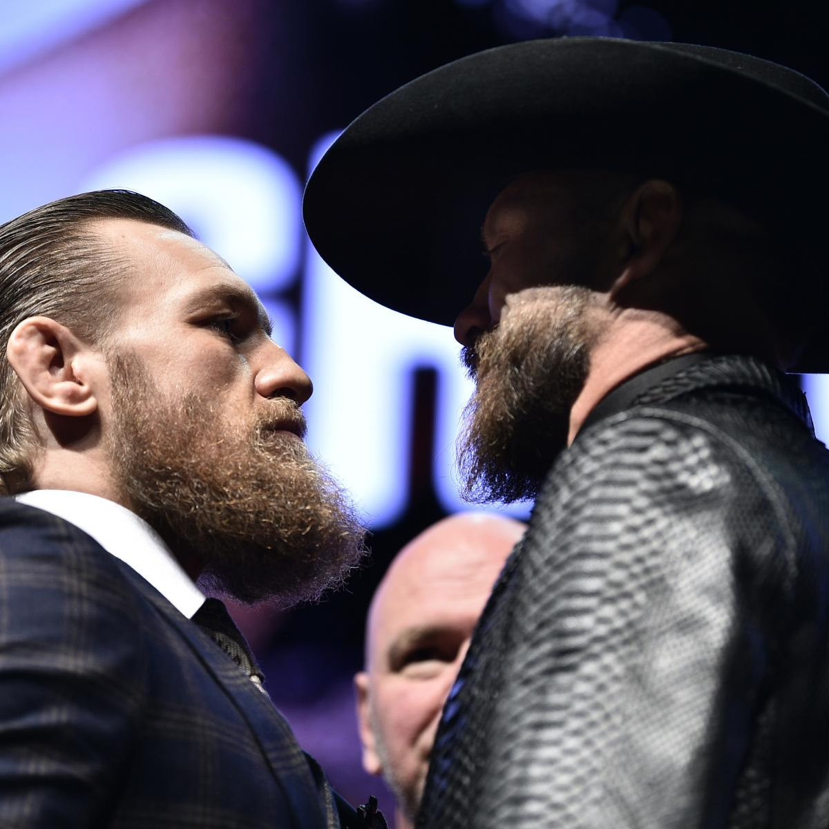 UFC 246: McGregor vs. Cowboy Fight Card, TV Info, Predictions and More | Bleacher Report | Latest News, Videos and Highlights