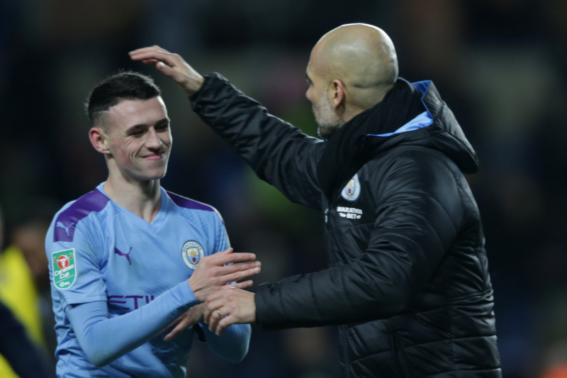 Phil Foden Relishes Working with 'Great Guy' Pep Guardiola at Manchester City