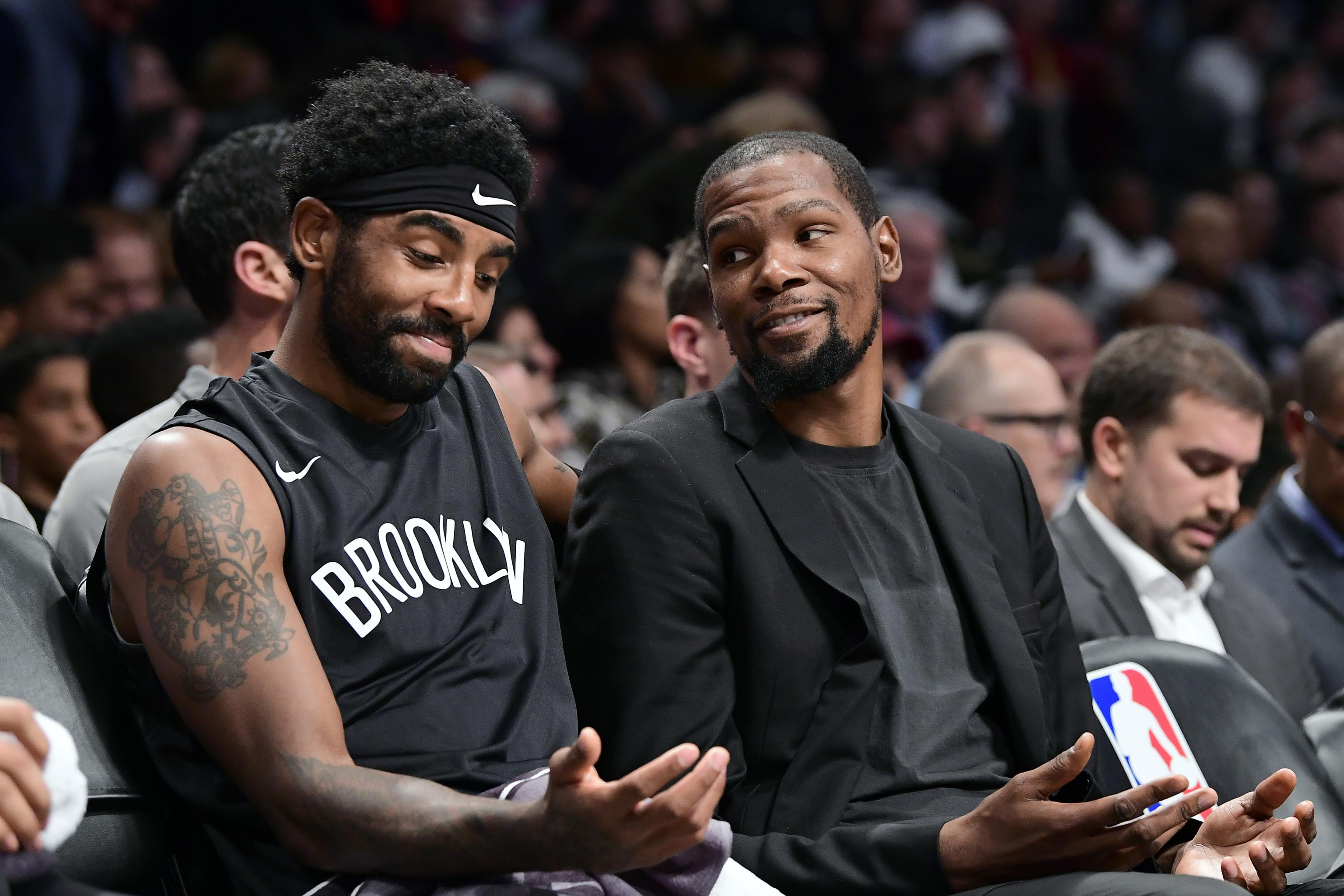 Kevin Durant Argues with Radio Host on Twitter over Kyrie Irving All-Star Votes | Bleacher Report | Latest News, Videos and Highlights
