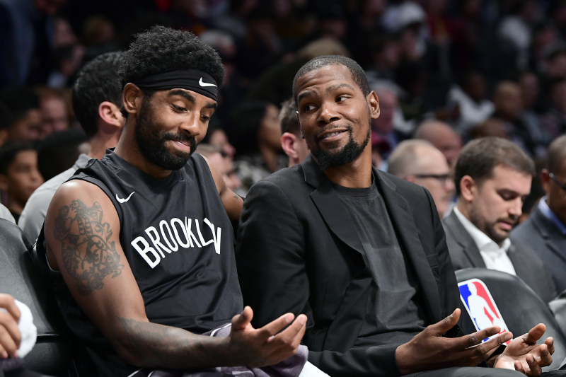 Kevin Durant Argues with Radio Host on Twitter over Kyrie Irving All-Star Votes