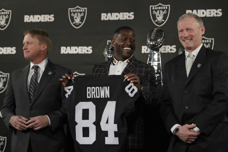 Mike Mayock Says He Thought Raiders Would 'Get the Best out Of' Antonio Brown