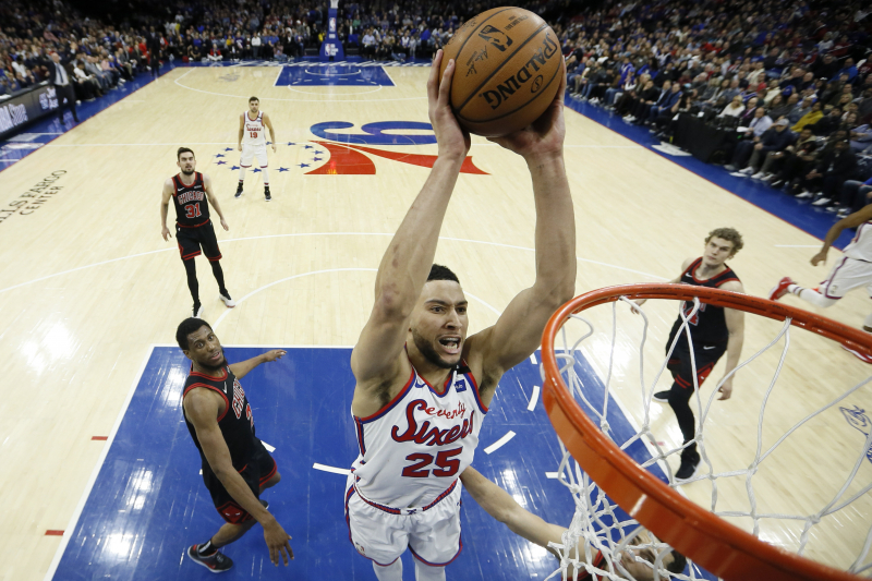 Ben Simmons, Furkan Korkmaz Lead 76ers to 100-89 Win over Zach LaVine, Bulls