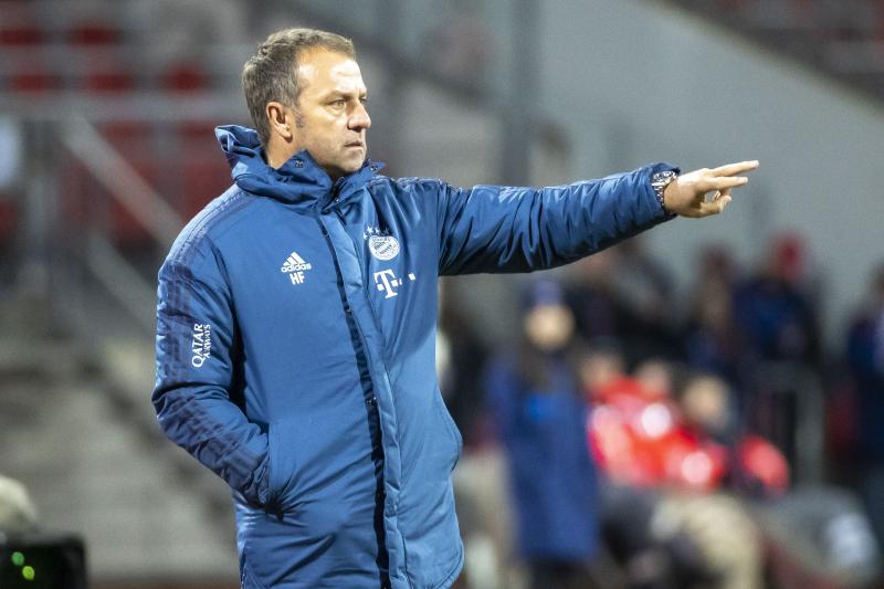 Hansi Flick Walks Back Bayern Munich Transfer Comments, Talks Title Race