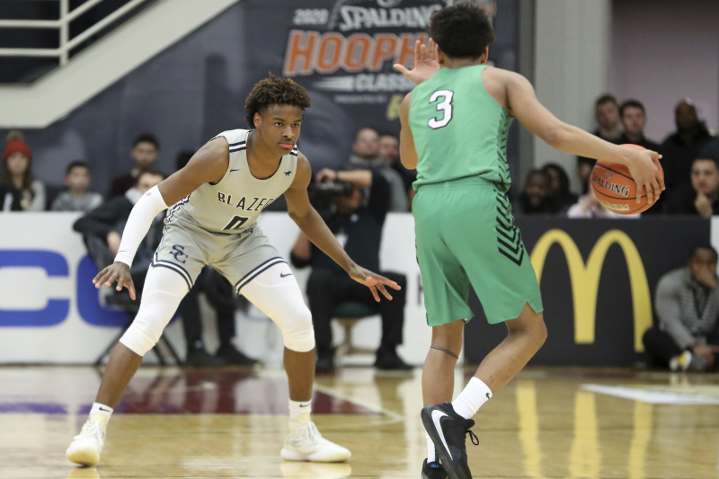 Bronny James, Zaire Wade, Sierra Canyon Beat Giannis' Brother Alex, Dominican