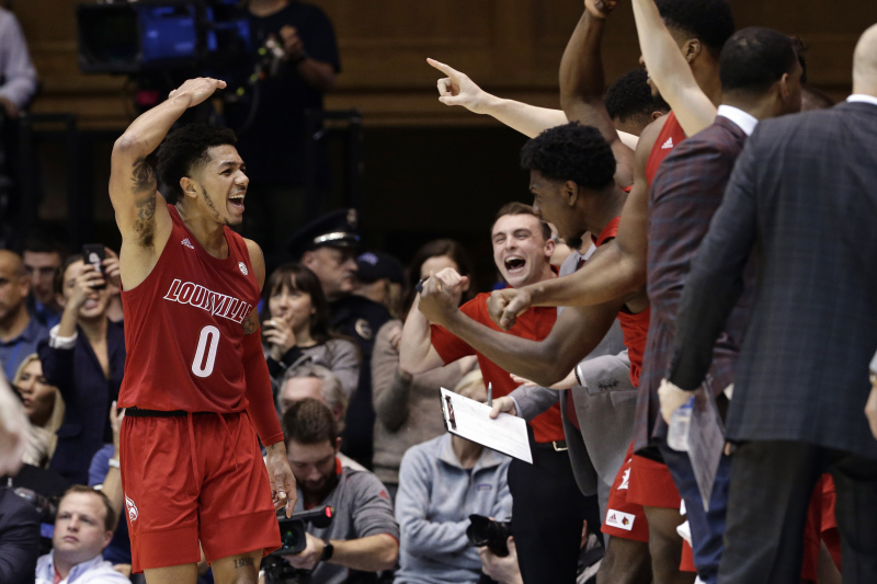Louisville Upsets Duke, Payton Pritchard Leads Oregon Comeback, Top Highlights