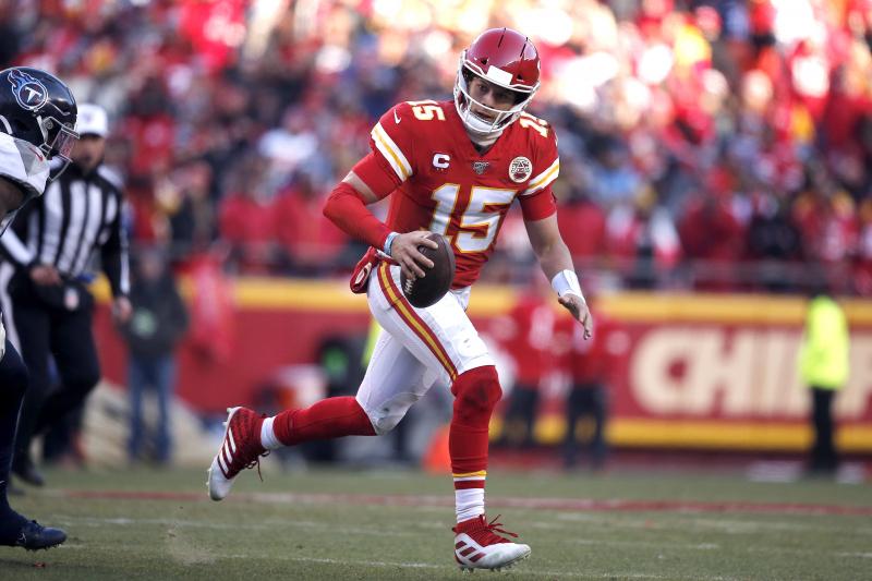 Chiefs' Patrick Mahomes Explains Sensational 27-Yard TD Run vs. Titans
