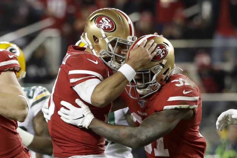 Raheem Mostert Breaks Colin Kaepernick's 49ers Postseason Rushing Record