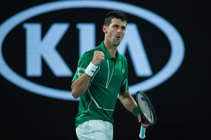 Australian Open 2020 Serena Federer Djokovic Wins