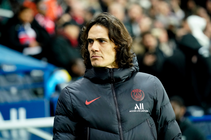 Frank Lampard Says Edinson Cavani a 'Great Player' Amid Chelsea Transfer Rumours