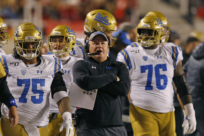 After 4th Straight Losing Season, What Is Going on with UCLA Football?