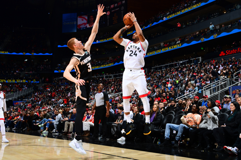 Raptors Hold Off Hawks for 122-117 Victory Despite Trae Young's 42 Points