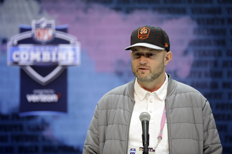 Bengals' Duke Tobin on Report Team Won't Trade No. 1 Pick: 'That's News to Me'