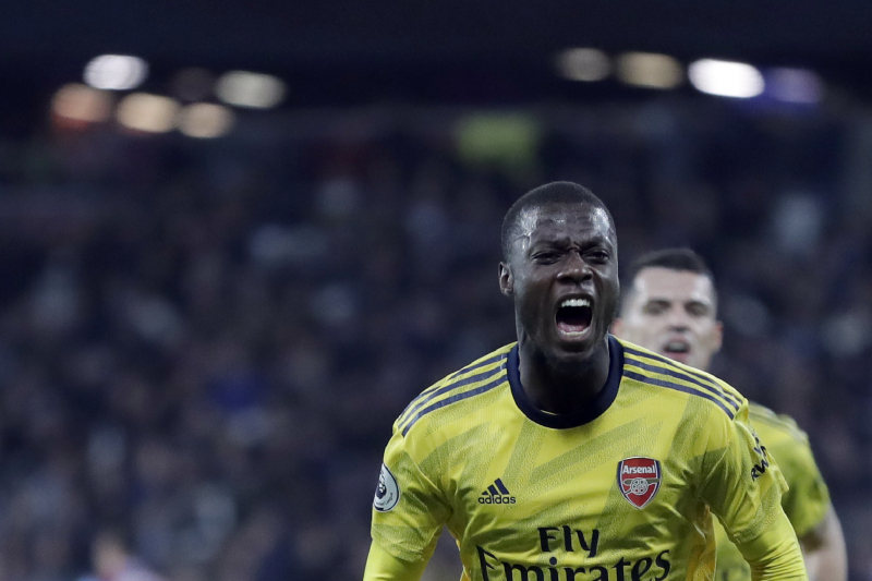 Nicolas Pepe Says 'Things Are Definitely Going Better' at Arsenal
