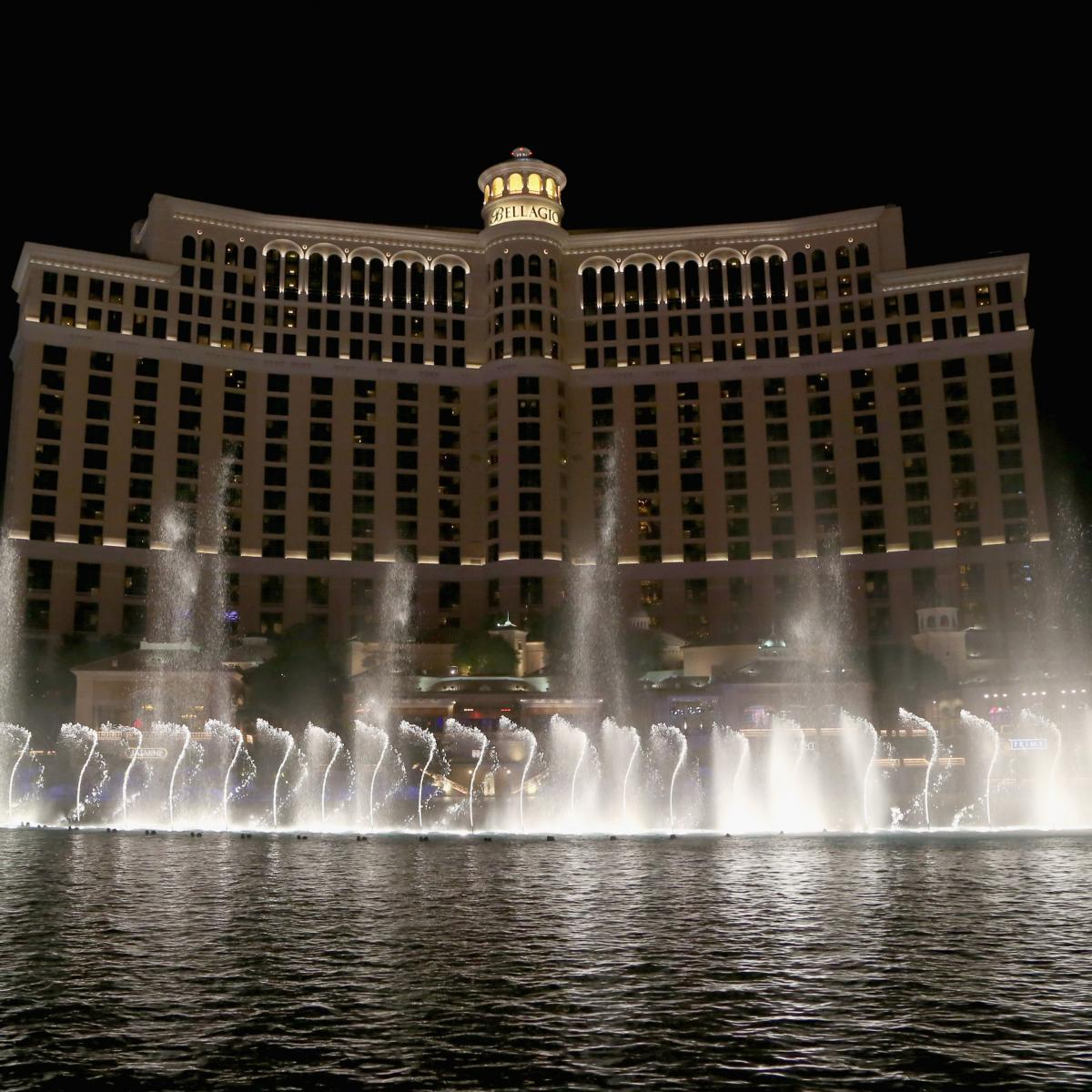 Las Vegas' 2020 NFL Draft Plans Include Stage on Water at Bellagio Fountains