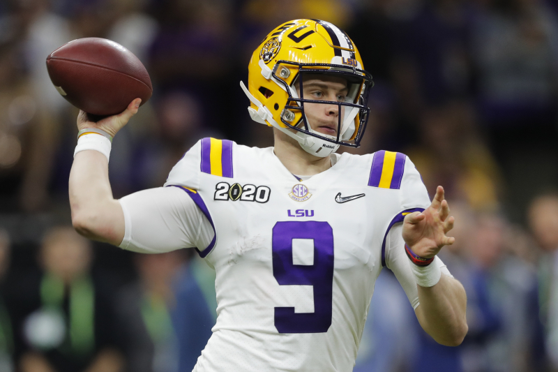 Daniel Jeremiah 2020 NFL Mock Draft: Joe Burrow, Chase Young Headline 1st Picks