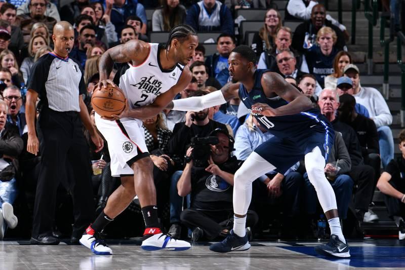 Kawhi Leonard Clippers Outlast Luka Doncic Mavericks For