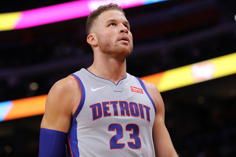 Report: Pistons Given $9.2M Player Exception for Blake Griffin Long-Term Injury