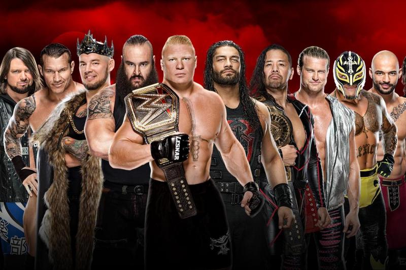 Drew McIntyre Eliminates Roman Reigns to Win 2020 WWE Men's Royal Rumble Match