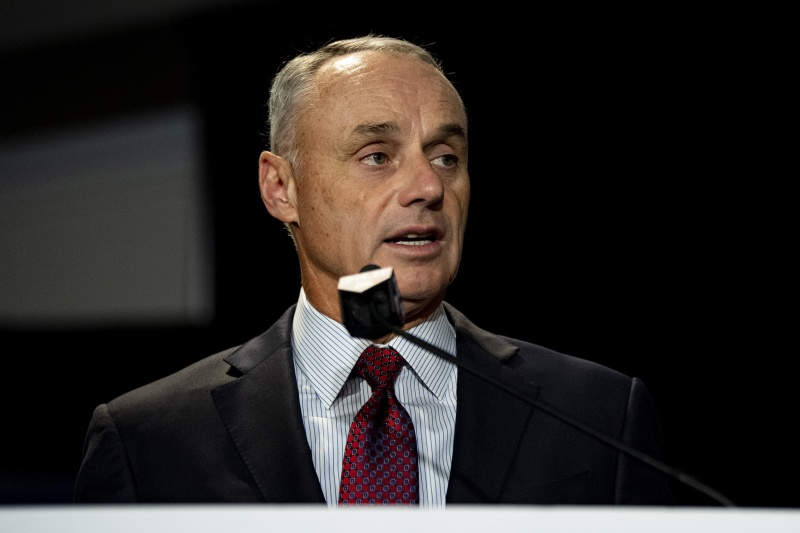 Rob Manfred Says MLB Will Experiment with Robot Umpires in Spring Training