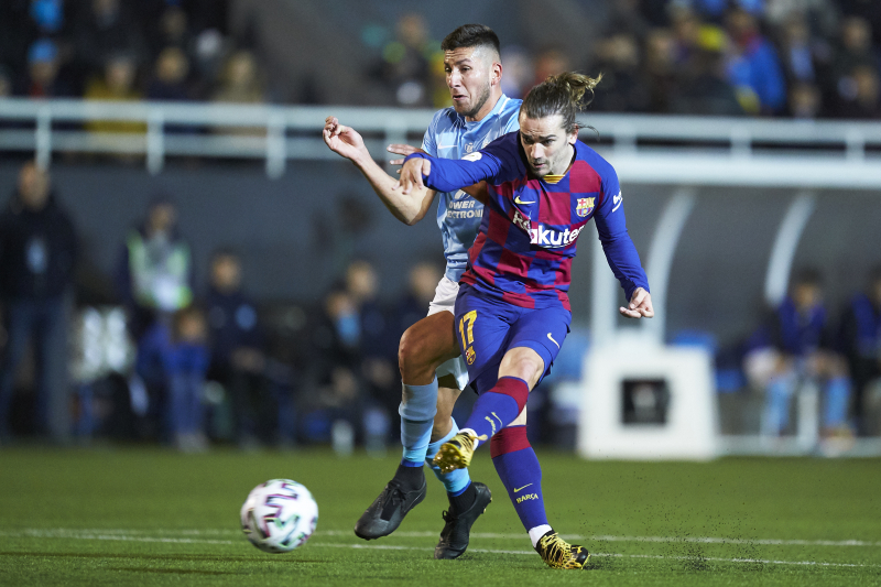 Antoine Griezmann, Barcelona Rally to Avoid Upset by Ibiza in 2020 Copa Del Rey