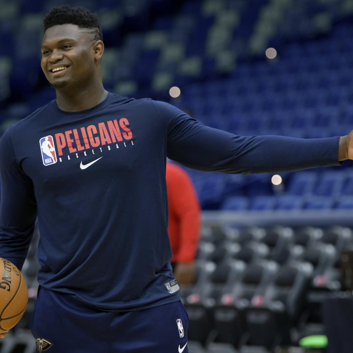 Zion Williamson To Be Used In Short Bursts In Pelicans