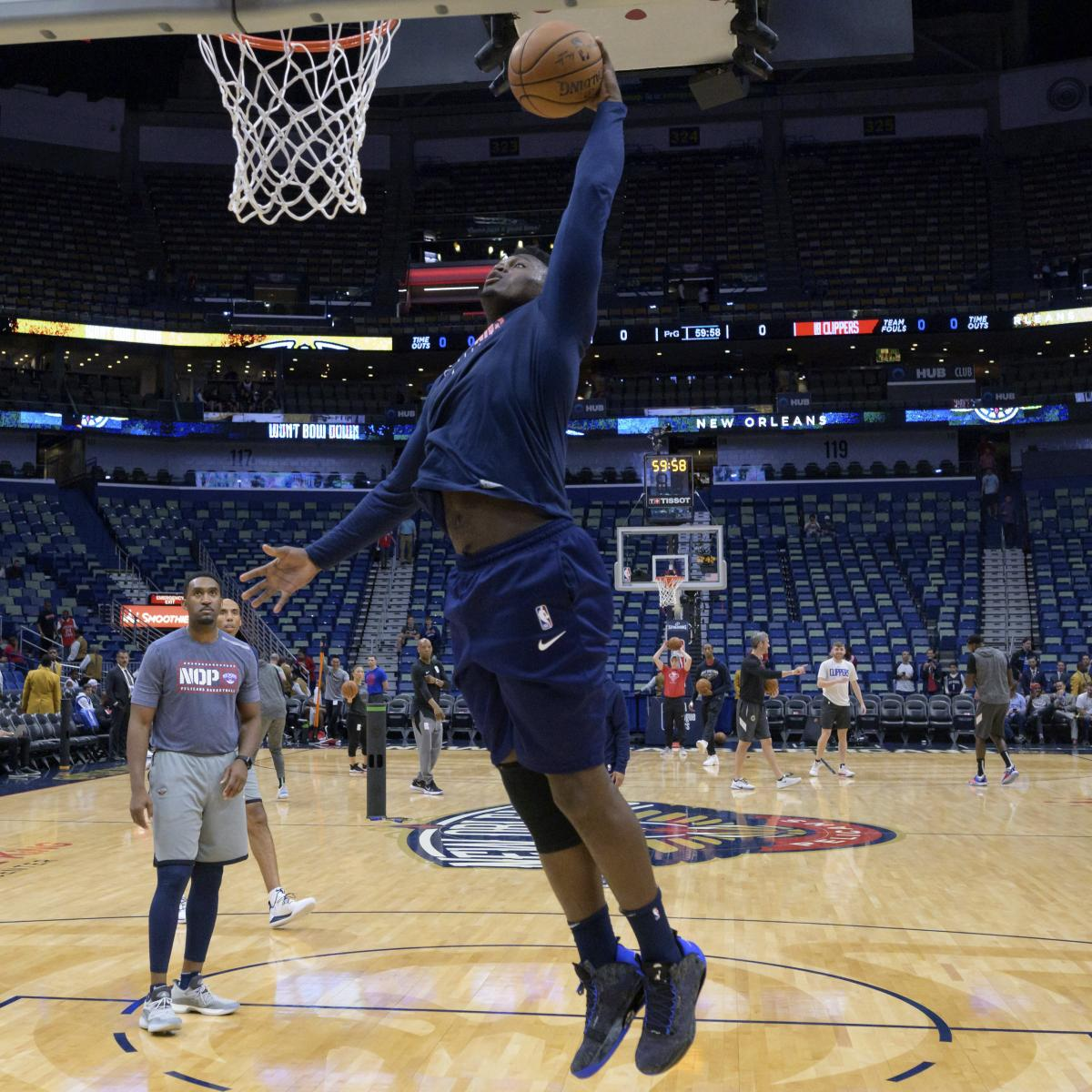 Alvin Gentry Tells Zion Williamson To Dunk Everything In