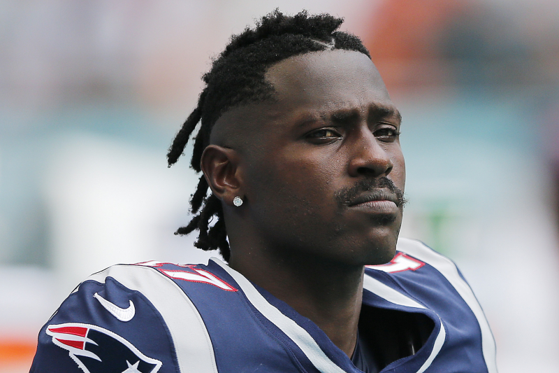 Antonio Brown 911 Caller Says NFL WR Was High During Alleged Altercation
