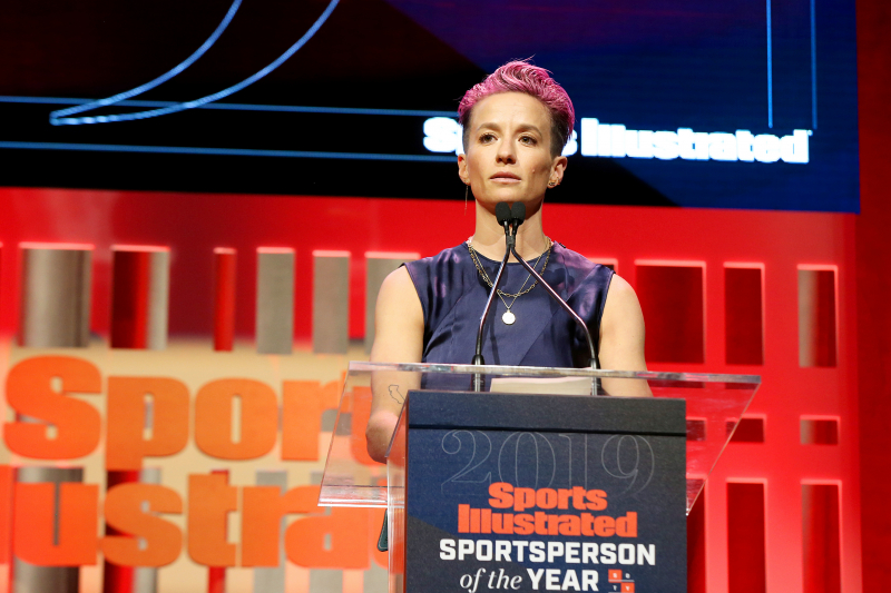 Megan Rapinoe Says IOC 'Scared About the Wrong Things' Amid Olympics Protest Ban