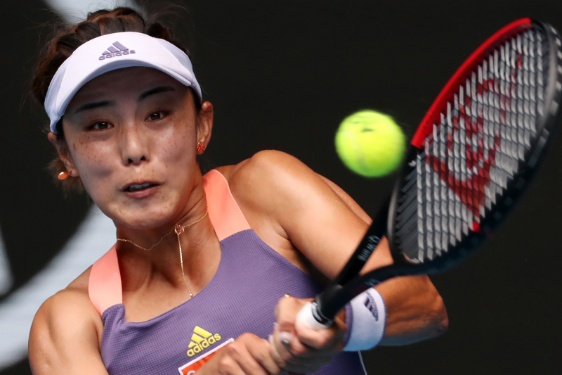 Serena Williams Stunned by Wang Qiang in 3rd Round of 2020 Australian Open
