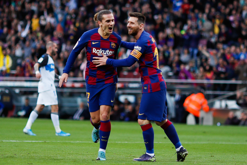 Antoine Griezmann Talks Lionel Messi Influence, 'Pride' at Playing for Barcelona