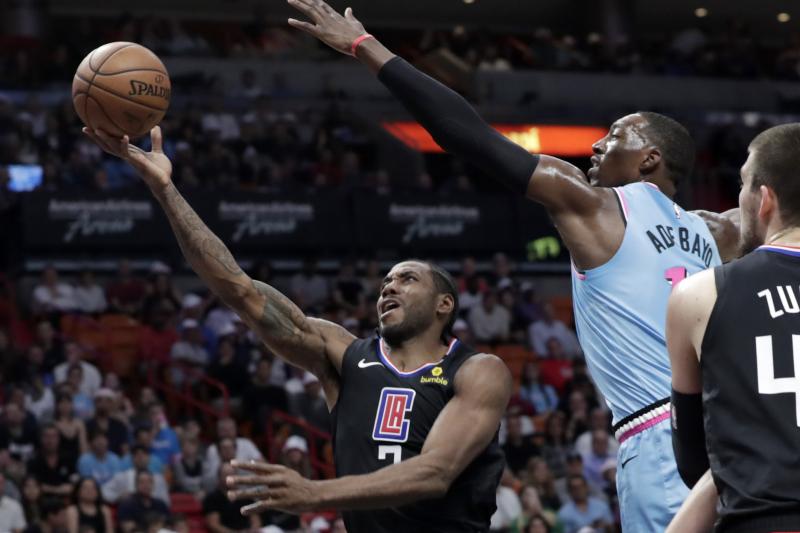 Kawhi Leonard Posts 1st Career Triple-Double as Clippers Beat Jimmy Butler, Heat