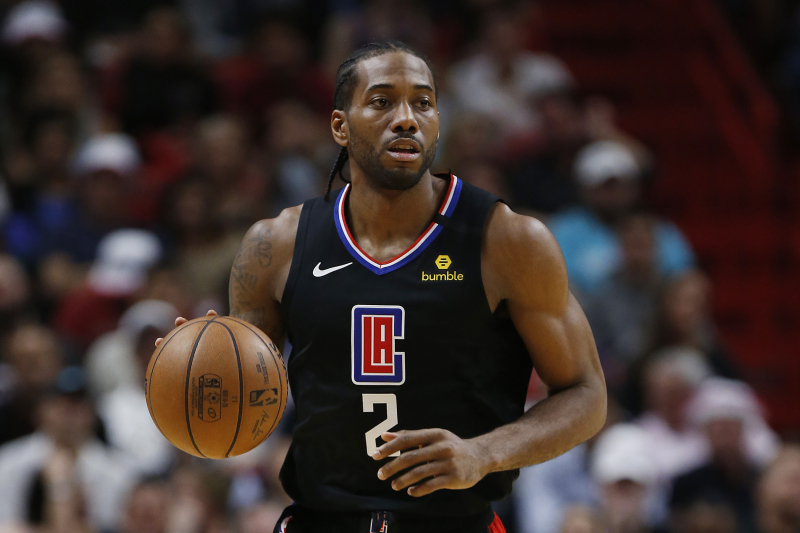 Kawhi Leonard Says 1st Career Triple-Double 'A Great Honor' After Clippers' Win