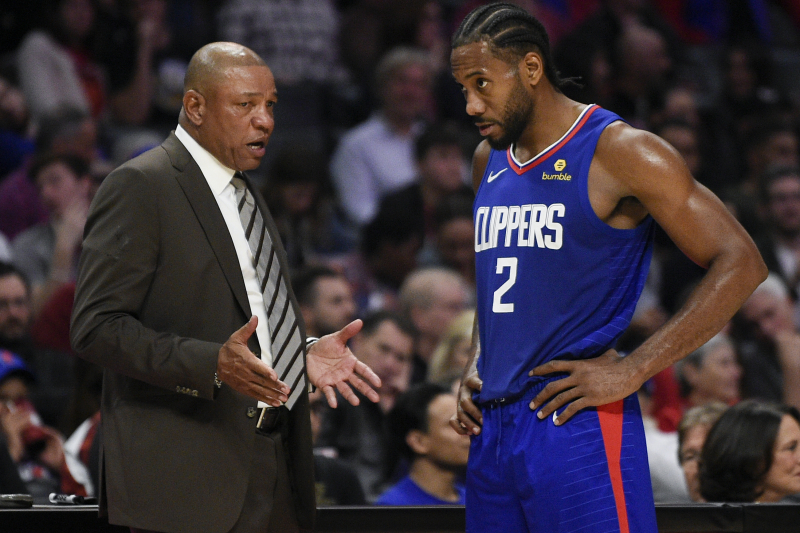Doc Rivers Denies Rumor Kawhi Leonard Gets Preferential Treatment from Clippers