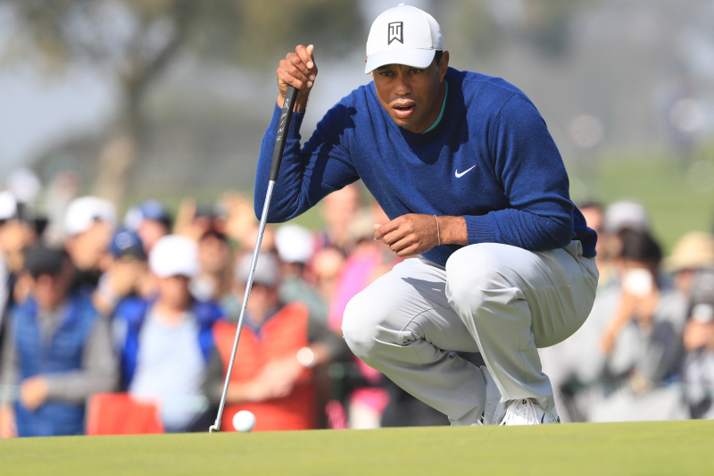 Tiger Woods Climbs Leaderboard with 3rd-Round 69 at 2020 Farmers Insurance Open