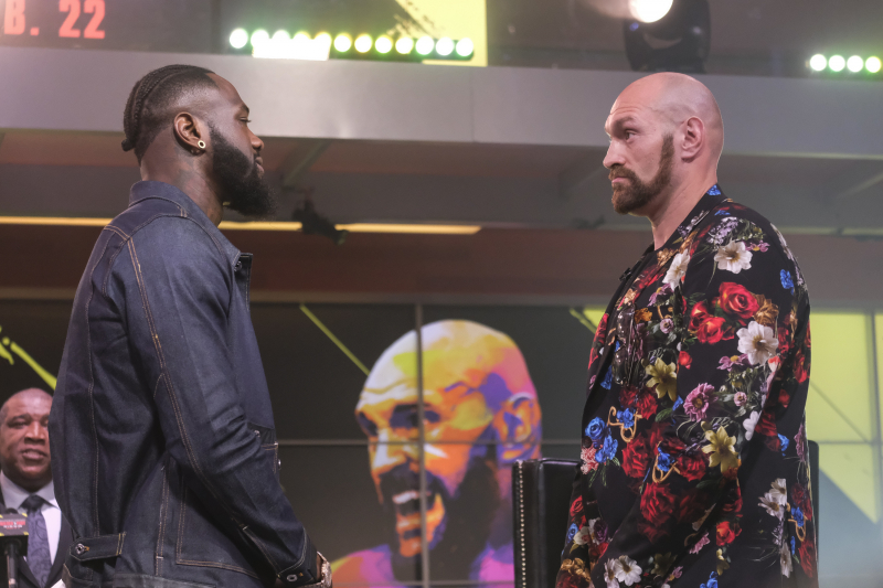 Deontay Wilder Says Tyson Fury Has 'Pillow Hands as Fists' Ahead of Rematch