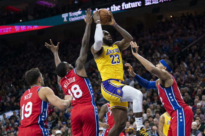 Lakers' LeBron James Passes Kobe Bryant for No. 3 on NBA's All-Time Scoring List