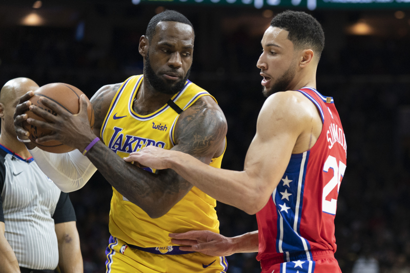 Ben Simmons, 76ers Beat Lakers; LeBron Passes Kobe Bryant on NBA Scoring List