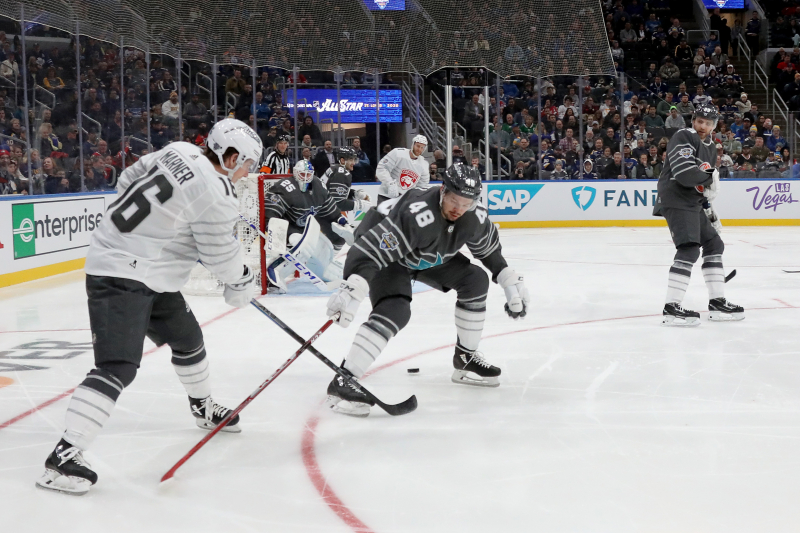 Tomas Hertl, Pacific Division Beats Atlantic Team to Win 2020 NHL All-Star Game