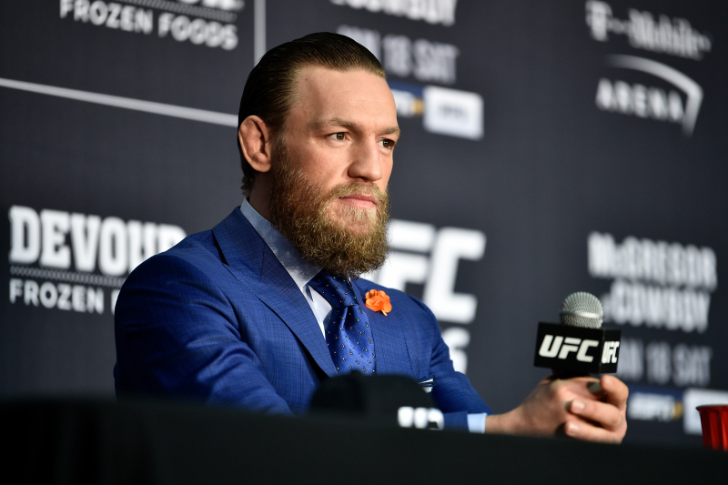 Conor McGregor Interjects in Stephen A. Smith-Joe Rogan Twitter Argument